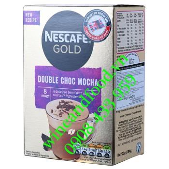 Cà phê hòa tan Double Choc Mocha Nestle Gold 184g