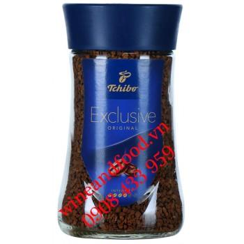 Cà phê hòa tan Tchibo Exclusive hũ 100g