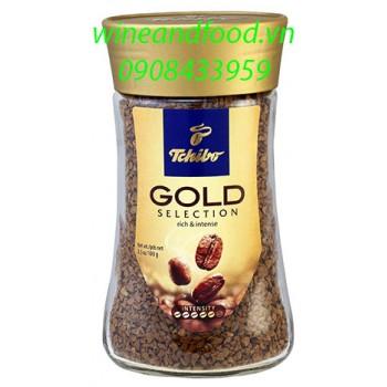 Cà phê hòa tan Tchibo Gold Selection hũ 100g
