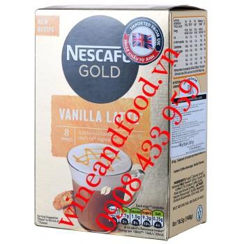 Cà phê hoà tan Vanilla Latte Nestle Gold 148g