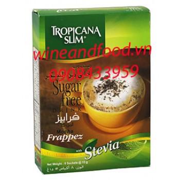 Cà phê mocha Tropicana Slim Frappez không đường 120g