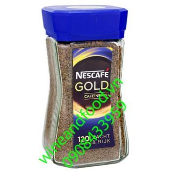 Cà phê Nescafe Gold nắp xanh 200g