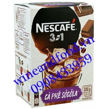 Cà phê Nescafe Socola 3 in 1 200g