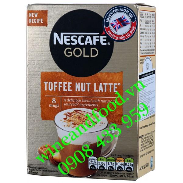 Cà phê Nestcafe Gold Toffee Nut Latte 156g