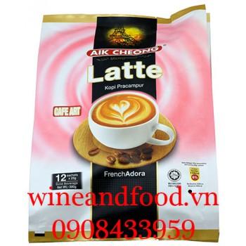 Cà phê sữa Latte Aik Cheong 300g