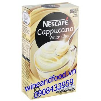 Cà phê Nescafe cappuccino white chocolate 180g