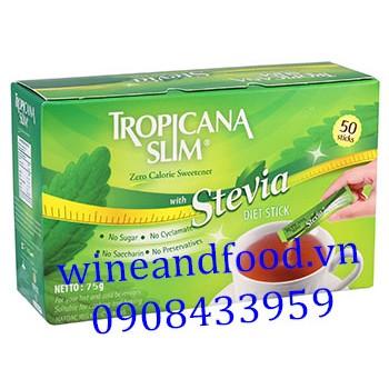 Đường ăn kiêng Tropicana Slim Stevia 75g