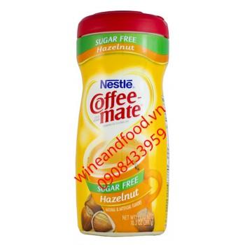 Kem pha cà phê Coffee Mate hạt dẻ không đường 289g