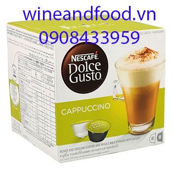 Viên cà phê Expresso Cappuccino Nescafe