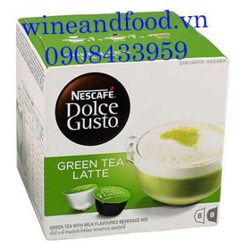 Viên cà phê expresso trà xanh sữa Nescafe