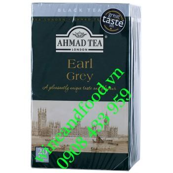 Trà Ahmad Earl Grey túi lọc 20 gói
