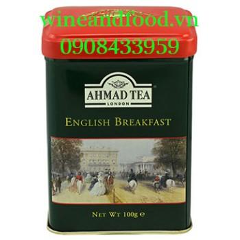 Trà Ahmad English Breakfast hộp thiếc 100g