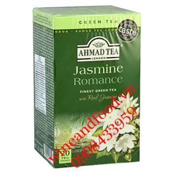 Trà Ahmad hương lài Jasmine Romance 20 gói