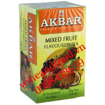 Trà Akbar trái cây túi lọc 40g