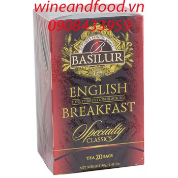 Trà Basilur English Breakfast 40g