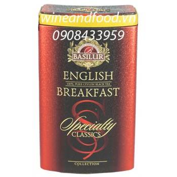 Trà Basilur English Breakfast ht 100g