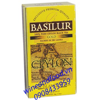 Trà Basilur Island of Tea gold 50g