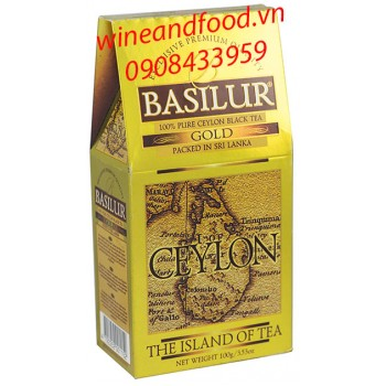 Trà Basilur Island of Tea gold hg 100g
