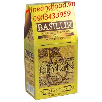 Trà Basilur Island of Tea gold hg 100g