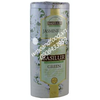 Trà Basilur jasmine green 125g