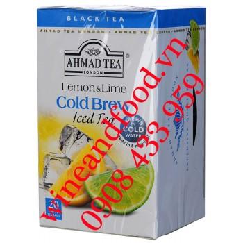Trà Chanh vàng Chanh xanh Cold Brew Ice Tea Ahmad 42g