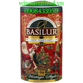 Trà đen Basilur New Year's Gift 100g