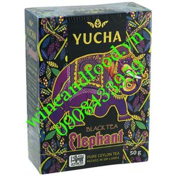 Trà đen Elephant Yucha túi lọc 50g