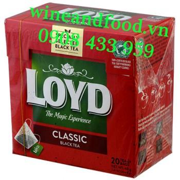 Trà đen Loyd Classic túi lọc hộp 40g