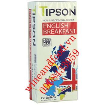 Trà đen Tipson English Breakfast hộp 50g