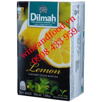 Trà Dilmah Chanh túi lọc hộp 30g