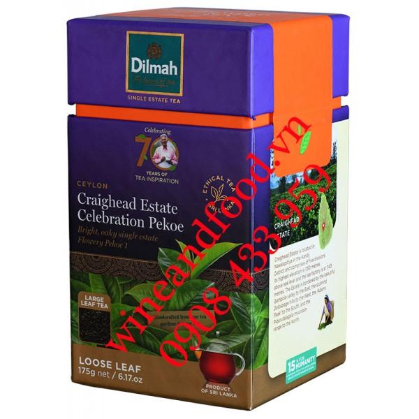 Trà Dilmah Loose Leaf Craighead Estate Anniverary 140g
