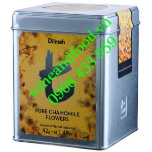 Trà Hoa Cúc Pure Chamomile Dilmah hộp thiếc 42g