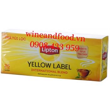 Trà Lipton nhãn vàng túi lọc Indonesia 50g
