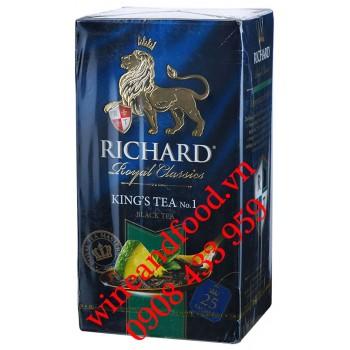 Trà Richard King's Tea Royal Classic No.1 túi lọc 25 gói