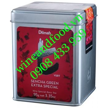 Trà Sencha Green Extra Special Dilmah hộp thiếc 95g