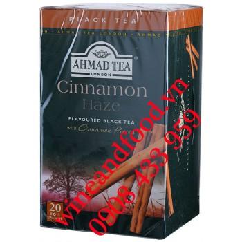 Trà túi lọc Quế Cinnamon Haze Ahmad hộp 20 gói