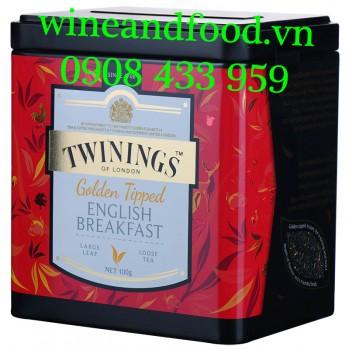 Trà Twinings Golden Tipped English Breakfast 100g