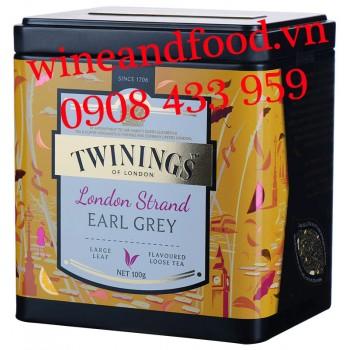 Trà Twinings London Strand Earl Grey 100g