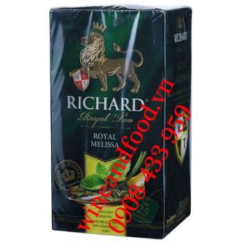 Trà Xanh Bạc Hà Sả Tía Tô Đất Richard 25 gói