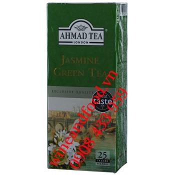 Trà Xanh hương Lài Jasmine Green Tea Ahmad túi lọc 50g