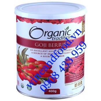 Câu Kỷ Tử Organic Traditions 400g