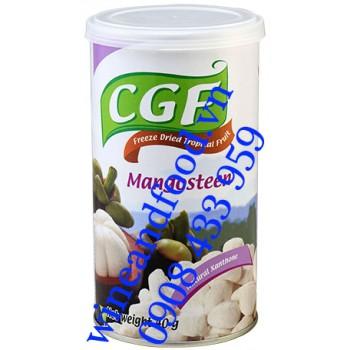 Măng Cụt sấy khô Mangosteen CGF lon 40g