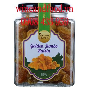 Nho khô Golden Jumbo Raisin Nature's Delight 300g