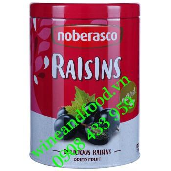 Nho khô Noberasco Raisins hộp thiếc 375g