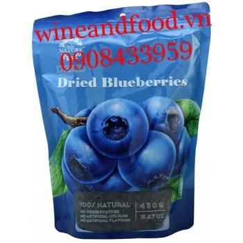 Trái Việt Quất Blueberry khô Only Nature 450g