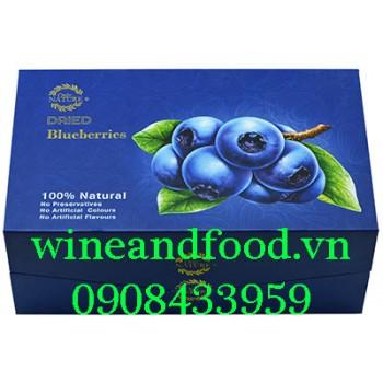 Trái Việt Quất Blueberry khô Only Nature hộp 450g