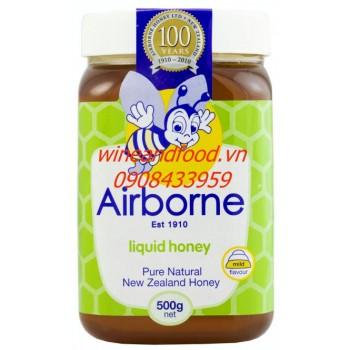 Mật ong Airborne Liquid Honey 500g
