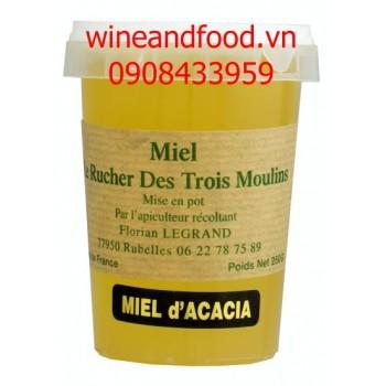 Mật ong La Rucher Des Trois Moulins hũ nhựa 250g