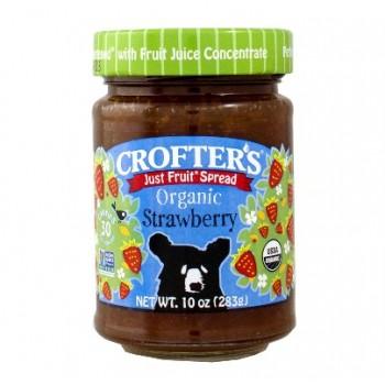 Mứt siêu sạch Crofter's Organic Strawberry 283g