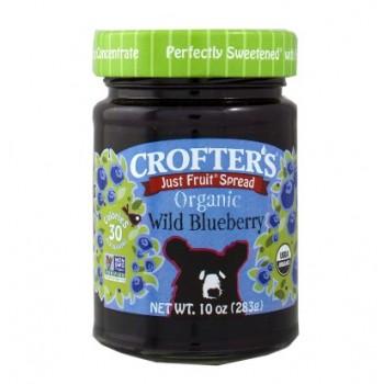 Mứt siêu sạch Crofter's Wild Blueberry 283g